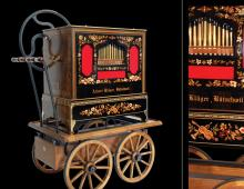38 key Trompet Organ  with paper rolls