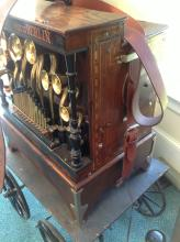 Very rare monkey barrel organ