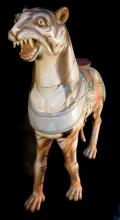 Tiger of a Herschell Merry-Go-Round