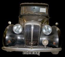 Daimler Funeral Car Typ DH27, 1950