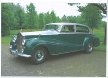 Rolls Royce Experimental Silver Wraith by Park Ward, 41 EX, LWB, 1954