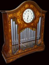 Hofbauer Organ with Cassette-System and clock