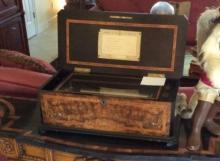 Ouverture Music Box Genava, c. 1880