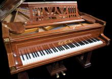 A fantastic Ed. Seiler Grand Piano