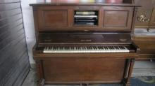 Rare Welte green Reproducing Piano