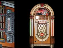 Juke Box Wurlitzer Model 1015
