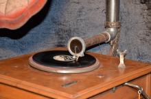 Stand Gramophone