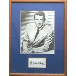Gregory Peck Autograph