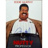 Eddy Murphy Autographed Poster