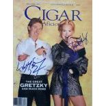 Autographed CigarAficionado Cover 1997