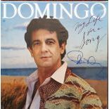 Placido Domingo Autographed Album