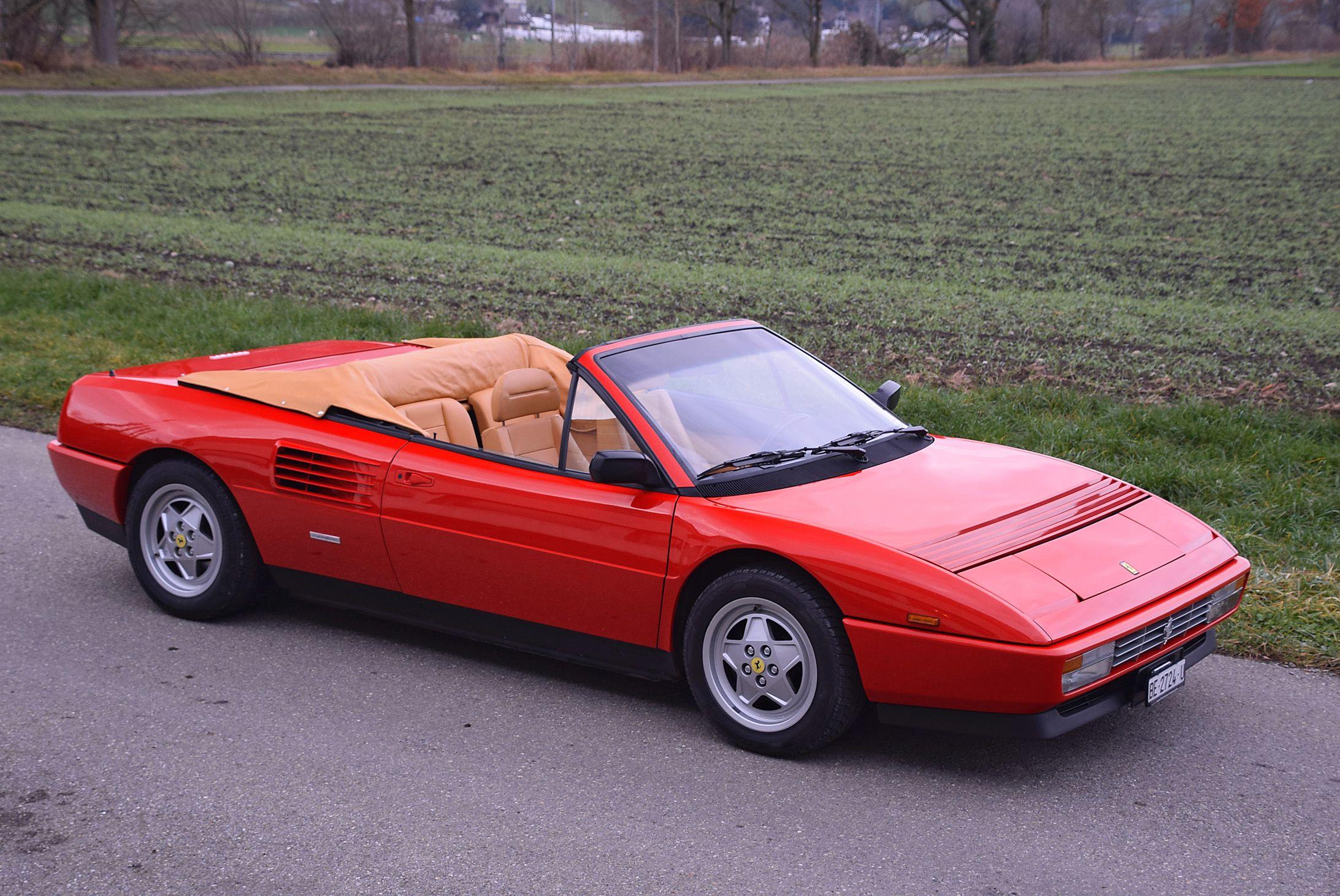 Ferrari Mondial 3 4 T Cabriolet 1991 Auktionen Preisarchiv