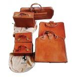 Lot with 6 different Ferrari Luggages