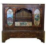 42key Monkey Organ Hermann Howe - Berlin