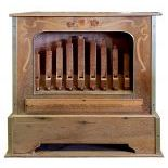 21key C. Frei & Sohn, Waldkirch Monkey Organ with paper-rolls