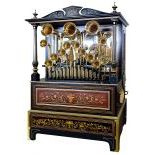53-key Poirot Frères/Frati trumpet barrel organ