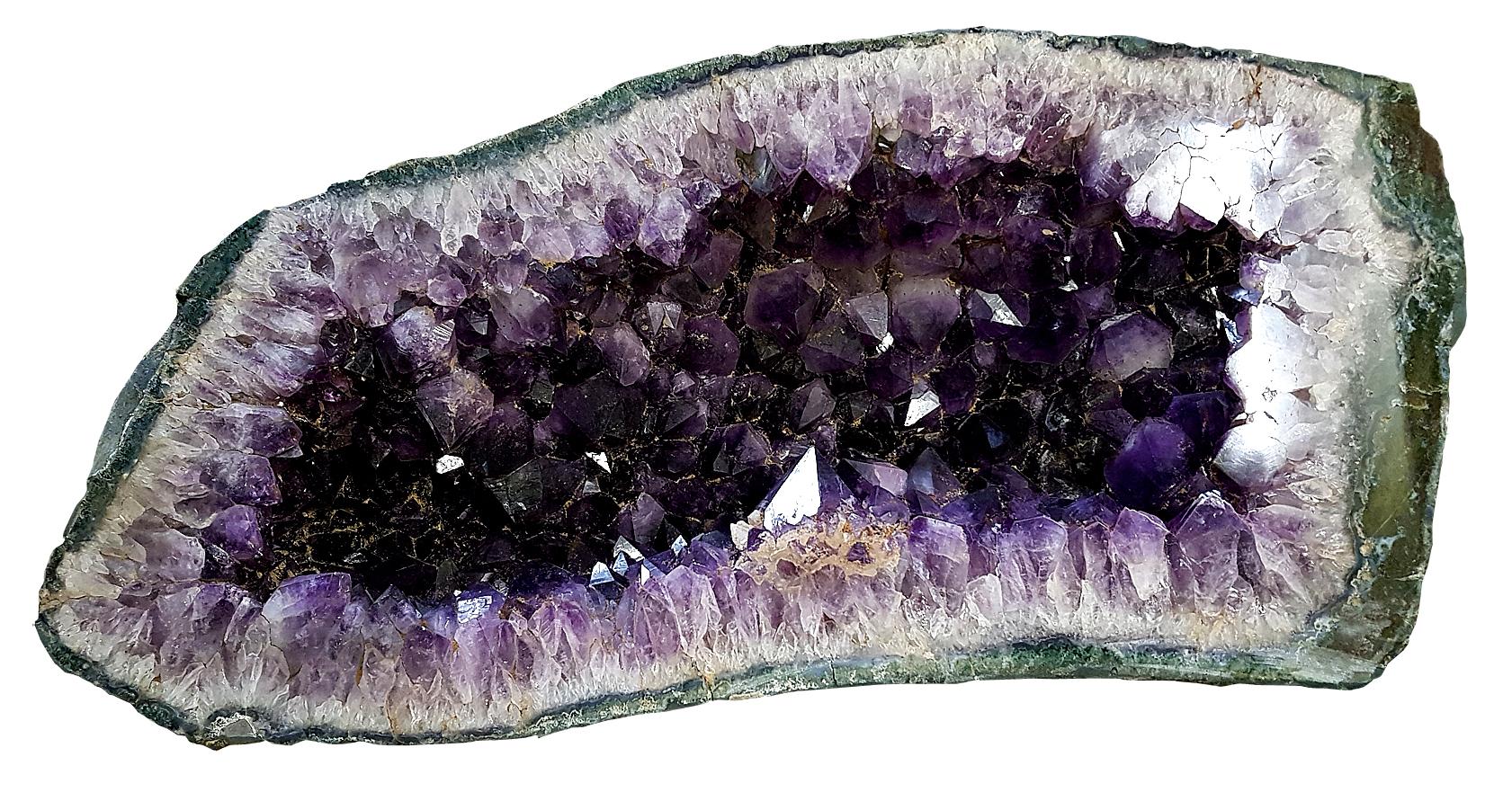 Amethyst-druses, table foot