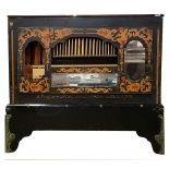 46key Monkey barrel organ