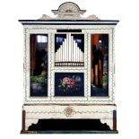 42key Max Andreas, Orgelbauer, Dachwig Barrel Organ