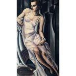 After Tamara de Lempicka, ˝Mme Alan Bott˝