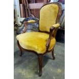 2 pieces upholstered Chairs