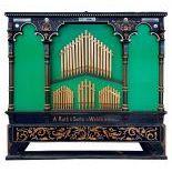 75-key A. Ruth barrel organ
