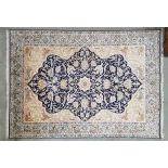Silk Ghom Carpet. Approximately 600'000 knots