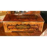 Swiss Cylinder Musical Box with 17 hidden Bells