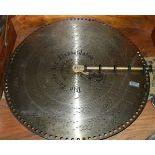 3 pieces  Polyphon discs