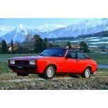 Ford Capri 2.3 S Turbo May, 1977