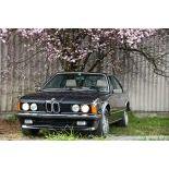 BMW 635 CSi, 1985