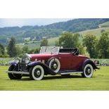 1931 Cadillac 370A V12 Convertible Coupe
