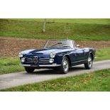 1963 Alfa Romeo 2600 Spider Touring