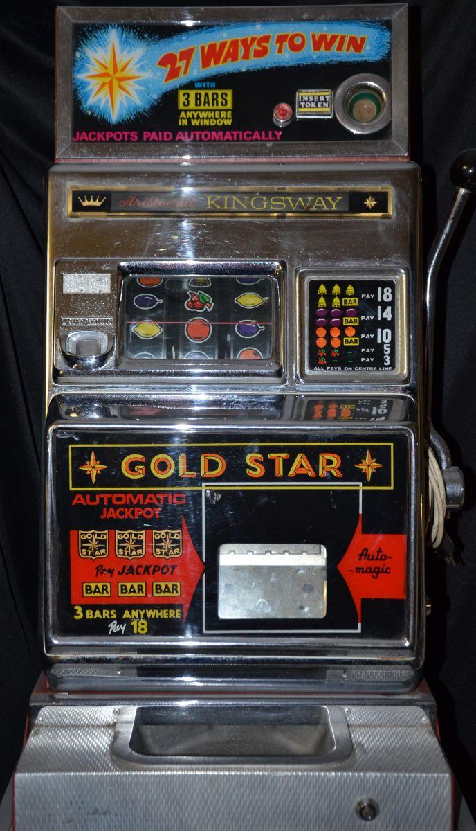 Gold Star Slot Machine