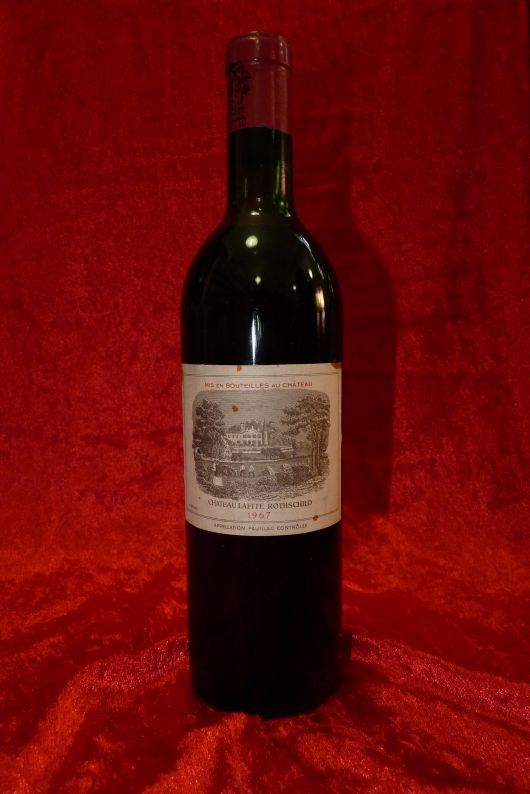 1967 Chateau Lafite Rothschild, Pauillac, France. 2 bottles 0,75 l each