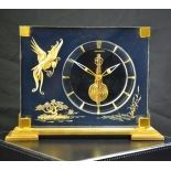 Table pendulum JAEGER LECOULTRE 8 day mechanism. Chinese motive