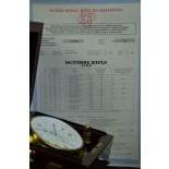 Montre de bord ECOLE D'HORLOGERIE ET ECOLE TECHNIQUE LE LOCLE avec 48 h de réserve de marche....