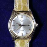 Montre-bracelet ROLEX Big Bubble back, en or rose, diameter 36mm, réf. 5030, No G 68128, bracelet...