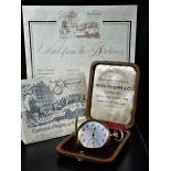 Pocket watch Savonette PATEK PHILIPPE made of 18ct gold. Ø 52mm. Extract and certificate in...