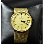 Chronometer OMEGA Costellation, completely made of 18ct gold 105 g. Ø 35.5mm. In very good...