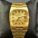 Automatic chronometer OMEGA Constellation. Completely made of 18ct Gold 139 g. In very good...
