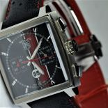 TAG HEUER Monaco. Limited edition for Porsche. Nr. 1555 New old stock