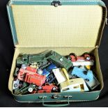 1 case with metal toy cars