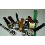 Interesting lot of various watches without reservere