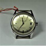 DYNOTRON watch in steel. Ecole professionnelle Tramlan. Diameter 33 mm. From the 70th