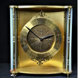 Desk clock ANGELUS with hour and half hour strike at will. Working condition. From the 60th