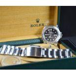 Rolex Explorer II tout acier, cal. 16570. Avec box et garantie de révision.