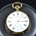 Pocket watch-Chronometer Royal,VACHERON CONSTANTIN Genève. Guilloched case No. 218126. Diameter...