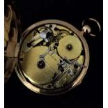 Rare Music Lady's Pocket Watch with quarter repetition and music. Diameter 41mm