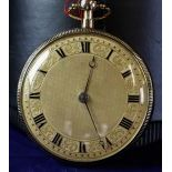 Music Pocket Watch in 18ct gold and gold dial. Quarter hour repetition and music. Signed Lépine...
